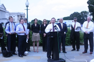 Rep. Doug Lamborn (R-CO) speaks on abortion mandates in health care, July 28, 2009.